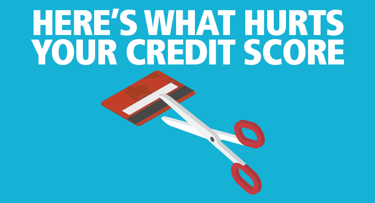 Learn what hurts your credit score