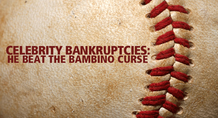 Boston Red Sox pitcher Curt Schilling declared bankruptcy