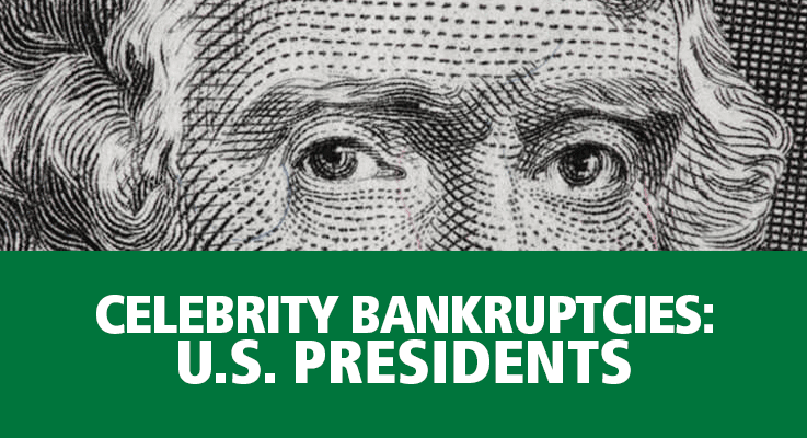 US Presidents experienced their fair share of money problems during their lifetime