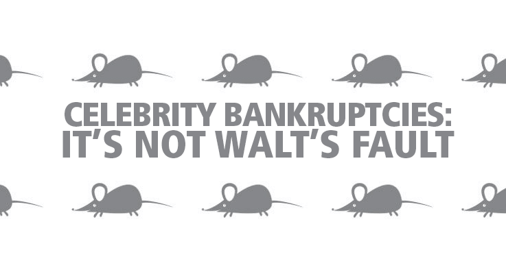 Did you know Walt Disney declared bankruptcy?