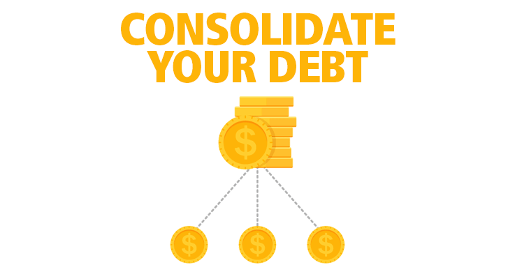 Learn how to consolidate debt