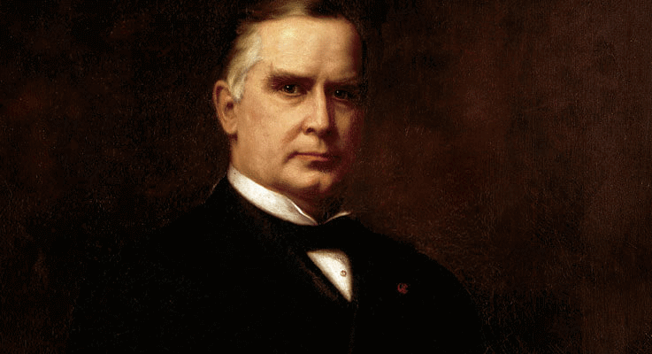 William McKinley declared bankruptcy