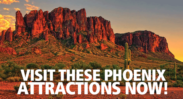 Visiting Phoenix, AZ? Check out these attractions