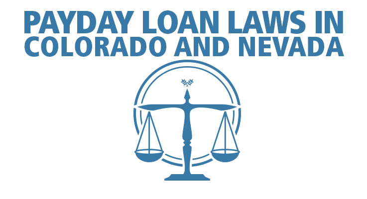 Colorado and Nevada payday loan laws