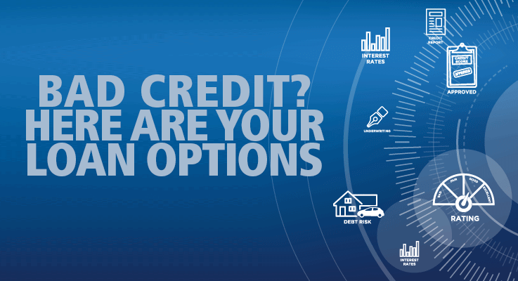 Here's a list of bad credit loan options