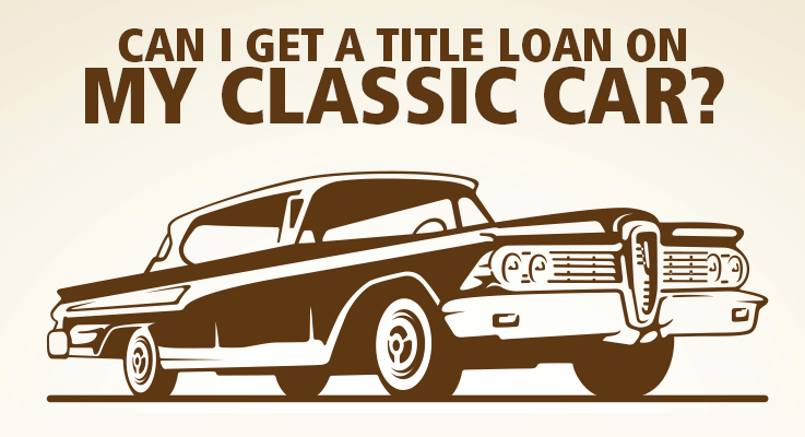 How do classic car tiltle loans work?