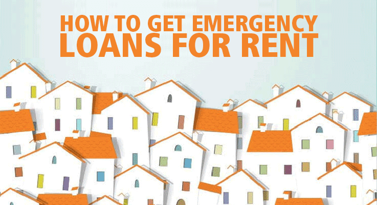 How do I get emergency loans for rent?