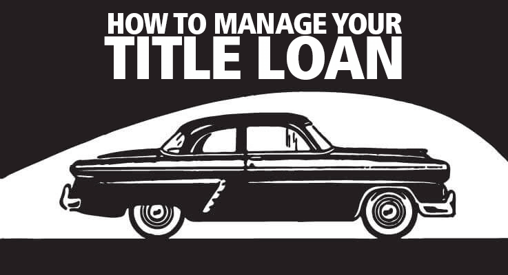 How to get out of a title loan