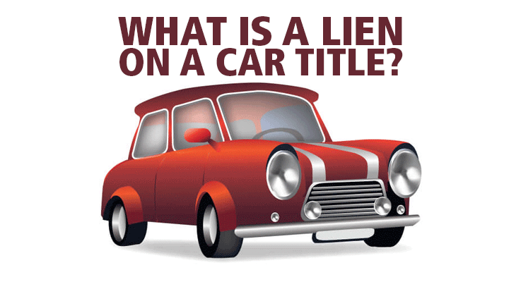 How do I put a lien on a car title?