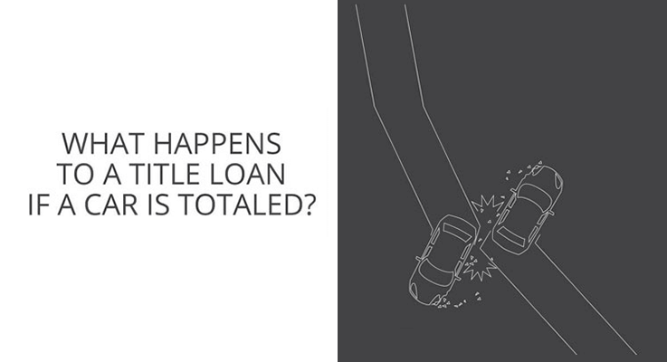 What happens if my car is totaled and I have a title loan?