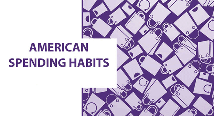 What are Amercan spending habits?