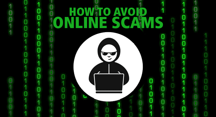 Follow these tips to avoid online scams