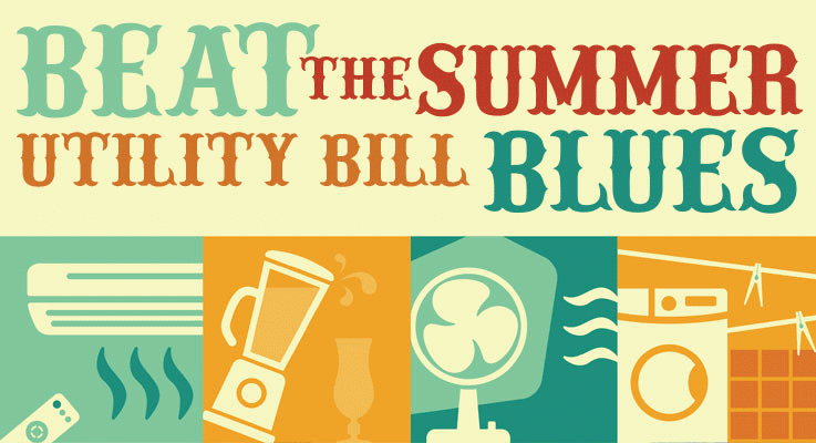 How to lower your electric bill in the Summer