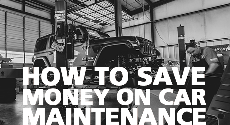 Easy tips to save money on car maintenence