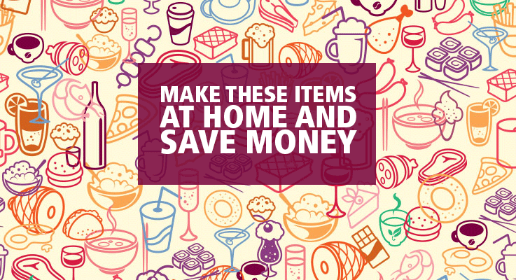 Make these items at home and save money