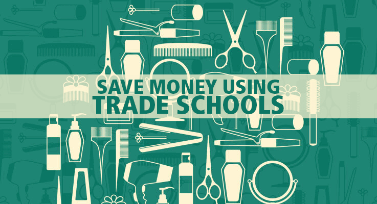 Use trade school services to save money