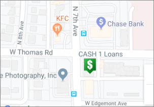 Cash 1 Loans | Arizona | West Thomas Location