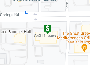 Directions to CASH 1 Loans 1214 W Baseline Rd