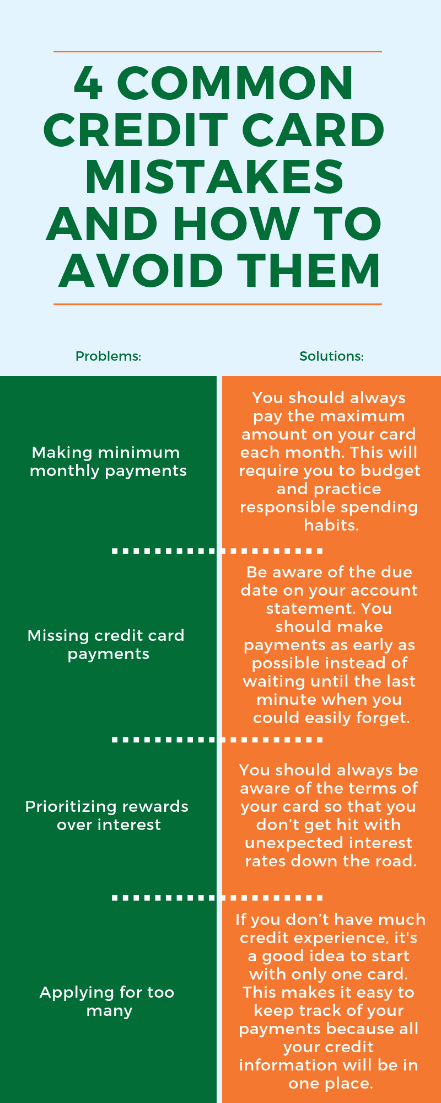 Are you making these common credit card mistakes?