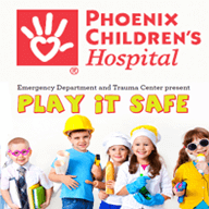 CASH 1 volunteers assisted the Phoenix Children's East Valley Urgent Care in Mesa with hosting a family-friendly early afternoon fair offering families FREE vaccinations from the Mesa Fire Department