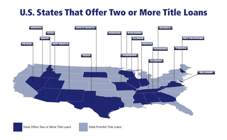 Does My State Offer Two Title Loans?