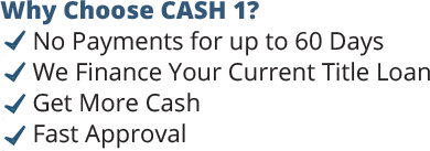 Why Choose CASH 1?