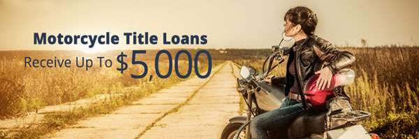 CASH 1 Motorcycle Title Loans at Lower Rates